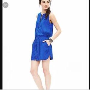Banana Republic cobalt sleeveless dress
